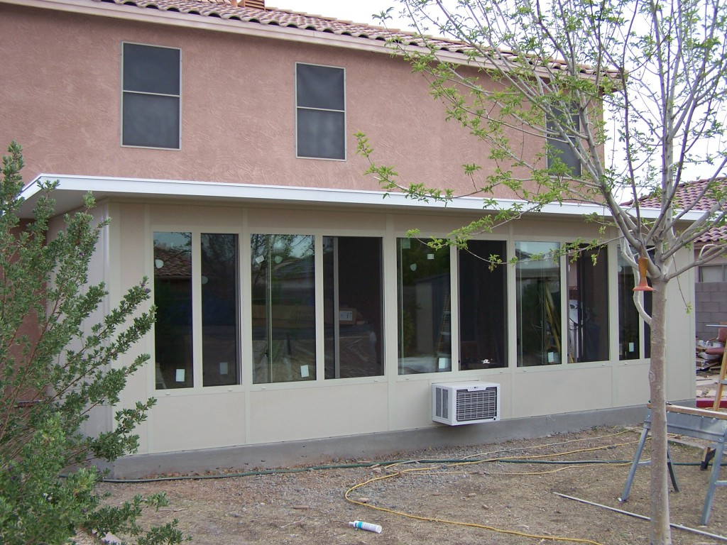 Straight eave patio enclosures arizona enclosures and Rv room additions
