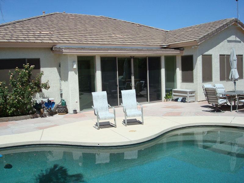 Sunroom addition in Chandler arizona